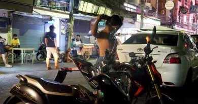 Vivid bar girls at Pattaya Strolling Toll road in 24 October 2020