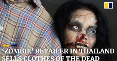 'Zombie' retailer in Thailand sells garments of the ineffective