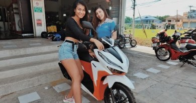 Thai Girl Shock Her Mom With A New Bike | Lifestyles In Thailand