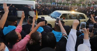 Thailand protests: Royal family confronted by protesters as authorities publicizes say of emergency