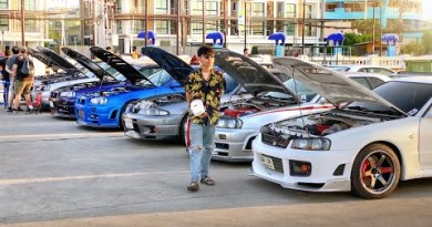 13 Million Dollars of GT-R's in Pattaya Thailand
