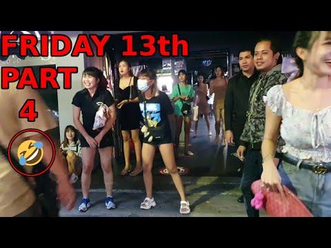 Friday thirteenth allotment 4, Walking Side toll road Pattaya originate. Night Glimpse, November 2020, Thailand