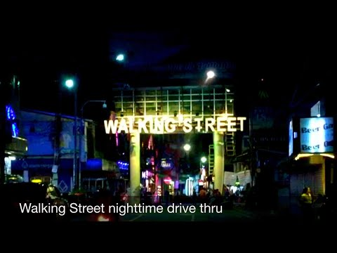 PATTAYA WALKING STREET?  (This is what it looks adore this day)