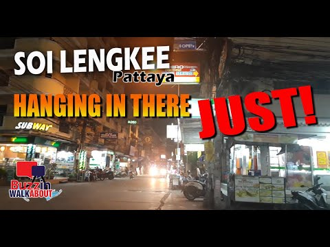 Soi Lengkee Pattaya November 2020 – Striking in there however very advanced time forward! ZERO TOURISTS