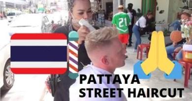 Free #Pattaya Avenue Haircut for Temple Donation! #Thailand