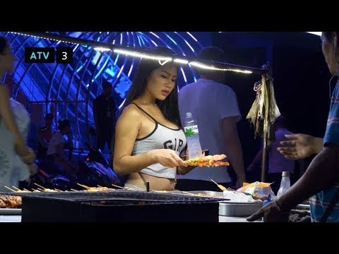 10 freelancers on the seaside road, strolling avenue pattaya 2, Thailand nightlife in 2020