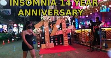 14 twelve months Anniversary, Insomnia, Walking Avenue, 14.11,,2020,,, Ibar Pattaya