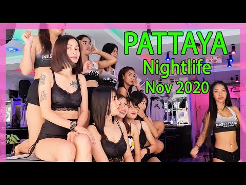 Pattaya Tear 4th Day November 2020 | Nightlife Reopening