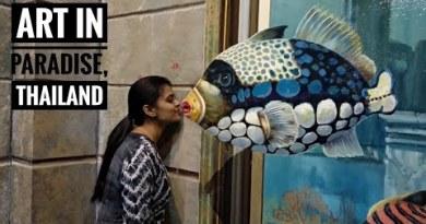 Art in Paradise Pattaya|Walking Road Pattaya|Safari World
