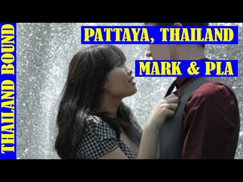 PATTAYA, THAILAND, LOVE STORY, MARK & PLA
