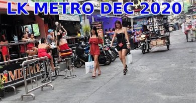 December 2020 Pattaya Thailand LK METRO, Sparkling Thai girls Shopping Road cart vogue