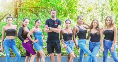 Racing Ladyboys in Pattaya Thailand