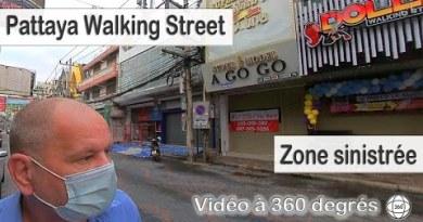 Pattaya, strolling boulevard et autres rues méconnaissables  Décembre 2020