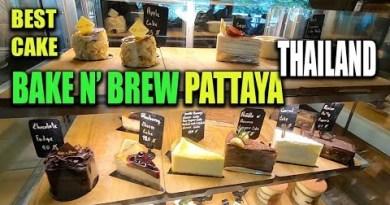 Bake n Brew Pattaya Thailand – for walk precise cake and breakfast