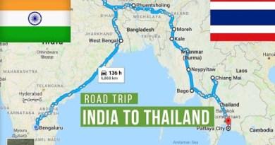 India to Thailand Solo Bike Dart (Royal Enfield)