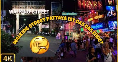 Walking Avenue Pattaya ist das das Ende? Dezember 2020