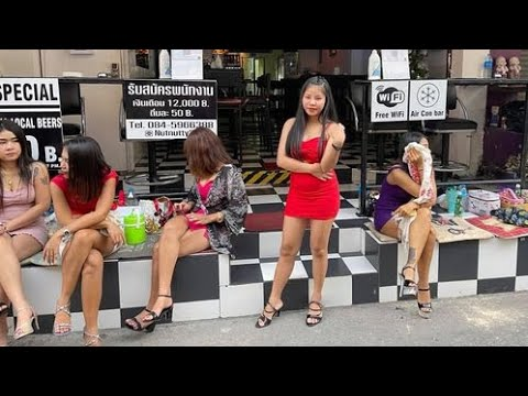 Pattaya Day & Evening Scenes: The Terrified Girls Of Pattaya Are Ready For Vacationers To Return To Thailand