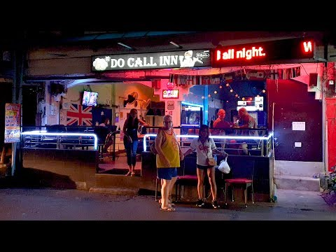 Bars of Soi Buakhao, Pattaya, Thailand [4K] [2020]