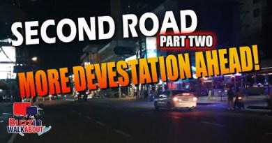 2nd Toll road Pattaya, how it appears to be like at night, pre lockdown and now abandoned again. Piece Two (2021)