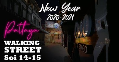Pattaya Strolling Avenue Soi 14 & 15, Contemporary Yr 2021