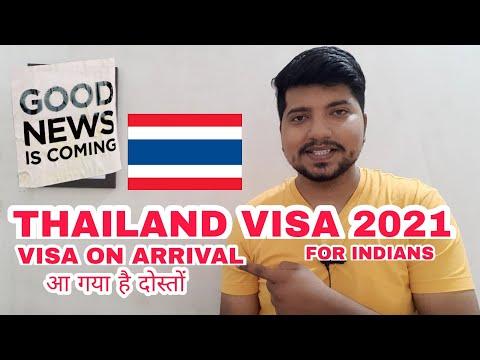 Thailand Visa 🇹🇭 2021 : For Indians | Visa on Arrival ? Thailand Visa for Indians !