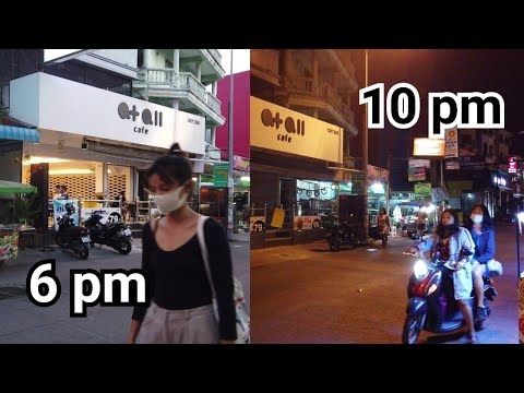 Pattaya Soi Buakhao, 6pm and 10pm on Jan 14, 2021| Thailand