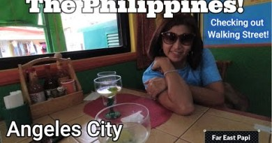 Avenue Time out to Angeles City and Strolling Boulevard.