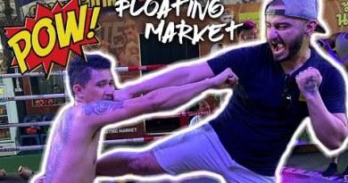 My First time in Muay Thai Ring | Pattaya Floating Market | Pattaya Vlog Thailand