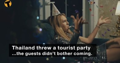 Thailand threw a vacationer celebration…the guests did no longer bother coming.