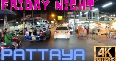 PATTAYA  Friday Evening 8pm 22/1/21 INSANE!!  LK Metro+