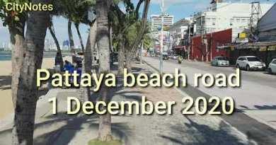 Pattaya Seaside Facet motorway 1 December 2020