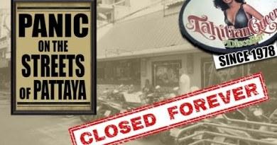 Pattaya's Oldest Bar Tahitian Queen Closes