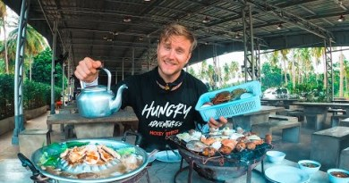 Thailand Bike Tour – THAI Food UNLIMITED / Ingesting Machine in Prachuap Khiri Khan