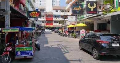 Lunchtime stroll by Soi LK, Pattaya – February 2021