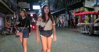 Nightlife on Walking Street Pattaya Thailand