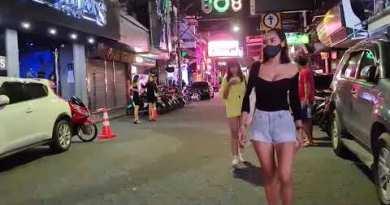 Walking at Walking Boulevard Pattaya 2nd Oct 2020
