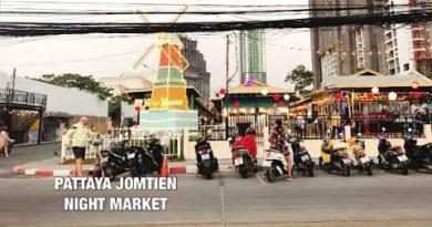 PATTAYA : JOMTIEN NIGHT MARKET- JOMTIEN BEACH | FEBRUARY 2021  #pattaya #jomtien