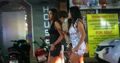 Thailand Pattaya Aspect toll road Scenes 10th February 2021 – Walking Aspect toll road!