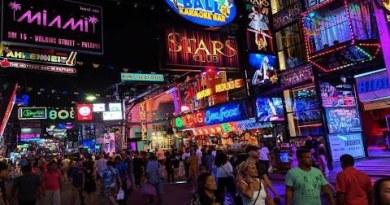 Pattaya Nightlife Walking Boulevard Thailand 2019