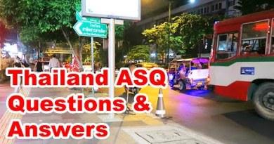 Thailand ASQ — Questions & Answers (FAQs)