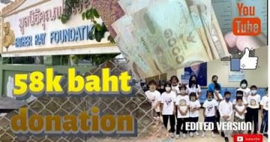 Father Ray Foundation Pattaya Thailand 58k baht donation – edited model