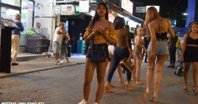 VLOG 4. Pattaya Strolling Avenue    Many peaceful girls, avenue sluts,bars