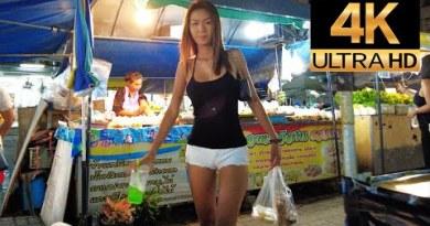 Pattaya 4K Evening Stroll 2021 Mar ninth. Treetown, Soi Made in Thailand,  Soi Bua khao.