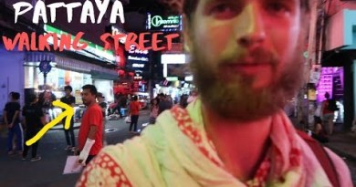 I can not imagine what he confirmed me! Pattaya Walking Road Thailand