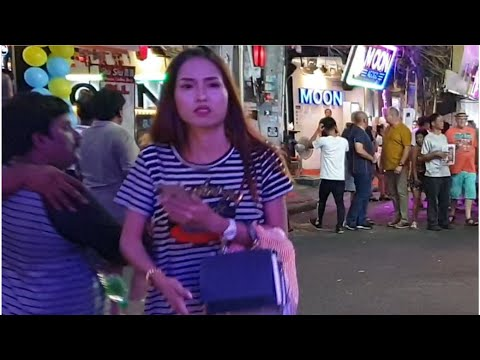 PATTAYA WALKING STREET SCENES 11PM TO 4AM