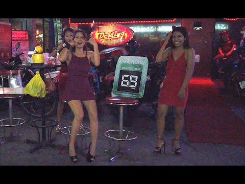 Pattaya Night Scenes: The Ladies Of LK Metro In Pattaya Are Happy To Welcome You Help To Thailand