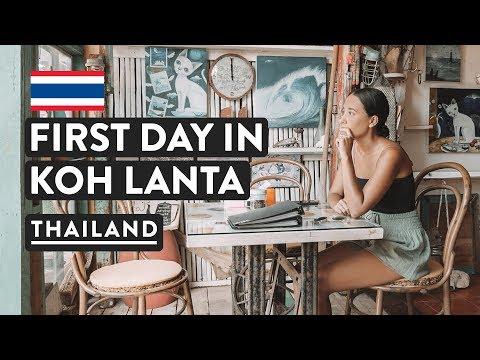 CHILL DAY IN KOH LANTA   Thailand Shuttle Vlog   Thai Islands