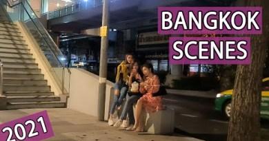 Bangkok Streets Day & Night Scenes – Vlog 61 | April 2021