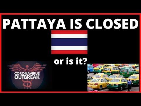 PATTAYA THAILAND MAY BE CLOSED AS OF TODAY V572