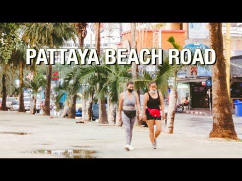 PATTAYA : Seaside Boulevard After the rain, March 2021   #pattaya #pattayatoday